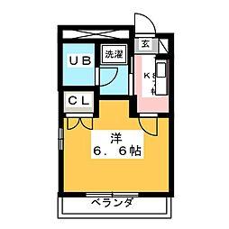 ハイムセキヤ[3階]の間取り