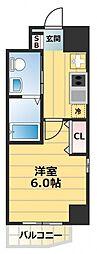 シティパル深江橋[8階]の間取り