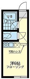 ユナイト 片倉セントローレンス[1階]の間取り