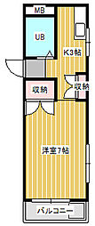 ストークハウスベル[2階]の間取り