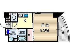 さとみマンションII[5階]の間取り