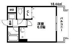 アバンス薬院[9階]の間取り