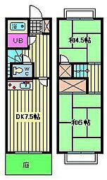 [テラスハウス] 埼玉県さいたま市南区根岸1丁目 の賃貸【/】の間取り