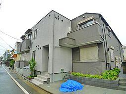 東京都足立区江北7の賃貸アパートの外観