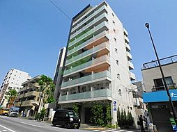 東京都新宿区榎町の賃貸マンションの外観