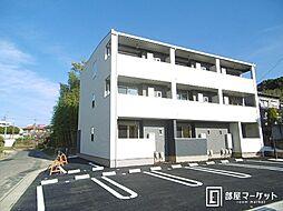 愛知県豊田市広川町7丁目の賃貸アパートの外観