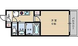 グランパシフィック戎本町[4階]の間取り