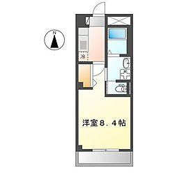広島電鉄宮島線 佐伯区役所前駅 徒歩3分の賃貸マンション 1階1Kの間取り