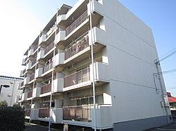 ウエストハイツP1[4階]の外観