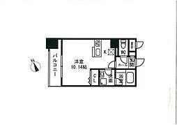 ステーションタワー  トヨシマ[703号室]の間取り