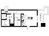 間取り,1K,面積22m2,賃料2.8万円,札幌市営東豊線 元町駅 徒歩4分,札幌市営東豊線 環状通東駅 徒歩14分,北海道札幌市東区北二十二条東16丁目