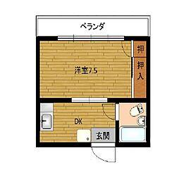 第2アリストマンション[4階]の間取り