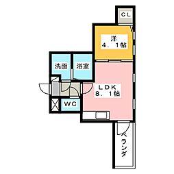 Spica[2階]の間取り