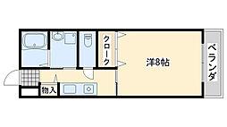 エンブレム熊取五門[105号室]の間取り
