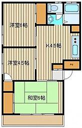 政和ビル[1階]の間取り