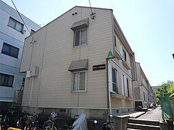 大阪府高槻市栄町1丁目の賃貸アパートの外観