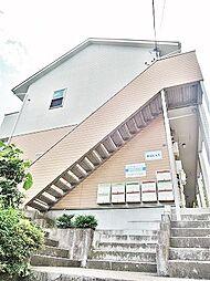 神奈川県横浜市鶴見区東寺尾中台の賃貸アパートの外観