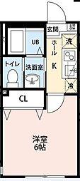 勝田台PDI、II[1102号室]の間取り
