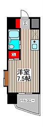 西川口コーポラス[3階]の間取り