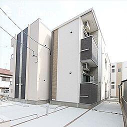 愛知県名古屋市緑区鳴海町字作町の賃貸アパートの外観