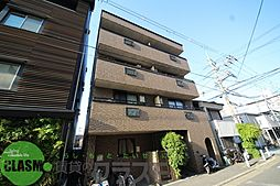大阪府東大阪市足代北1丁目の賃貸マンションの外観