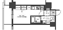 パシフィックタワー札幌[8階]の間取り
