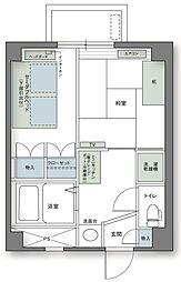 アルファコンフォート高松[3階]の間取り