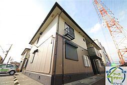 兵庫県加古川市尾上町旭3丁目の賃貸アパートの外観