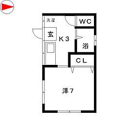 エルマーナ[2階]の間取り