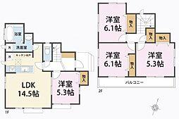 一戸建て(武蔵藤沢駅から徒歩18分、89.52m²、2,199万円)
