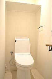節水タイプのトイレ
