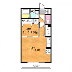 clover B棟[2階]の間取り