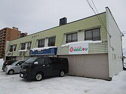 北海道札幌市北区篠路三条7丁目の賃貸アパートの外観