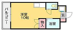 セレス篠栗[5階]の間取り