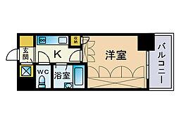 フォルム博多[10階]の間取り