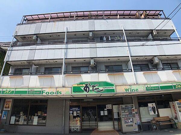 兵庫県芦屋市浜芦屋町の賃貸マンションの外観