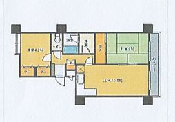 ネオハイツ筑紫丘[4号室]の間取り