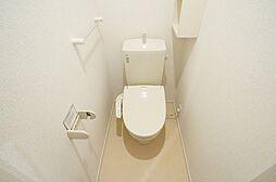 サプライズ・タウンFのコンパクトで使いやすいトイレです