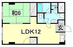 第三森ビル[402 号室号室]の間取り
