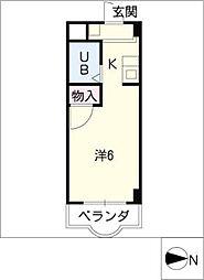 クレールショウワIII[2階]の間取り