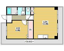 甲燿[13階]の間取り