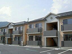 長野県長野市大字安茂里字竹裏の賃貸アパートの外観