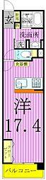 ロイヤルパークス西新井[525号室]の間取り