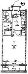 アクサス池袋[9階]の間取り
