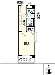 グランパフィオ[5階]の間取り