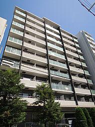 QCフラット北堀江[8階]の外観