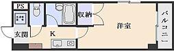 シャンテ中垣[7階]の間取り