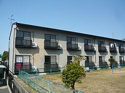 滋賀県東近江市東沖野3の賃貸アパートの外観
