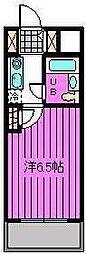 宮原ステーションプラザ[208号室]の間取り