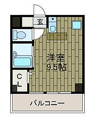古淵シティビル[2階]の間取り
